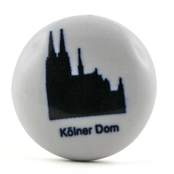 Restposten Möbelknöpfe Möbelgriffe Möbelknopf Porzellan Keramik - Kölner Dom