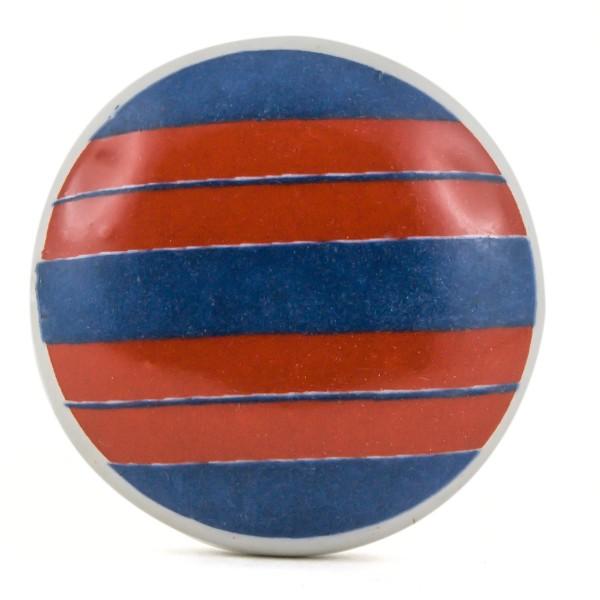 Restposten Möbelknöpfe Möbelgriffe Möbelknopf Keramik - Fussball Trikot Bayern
