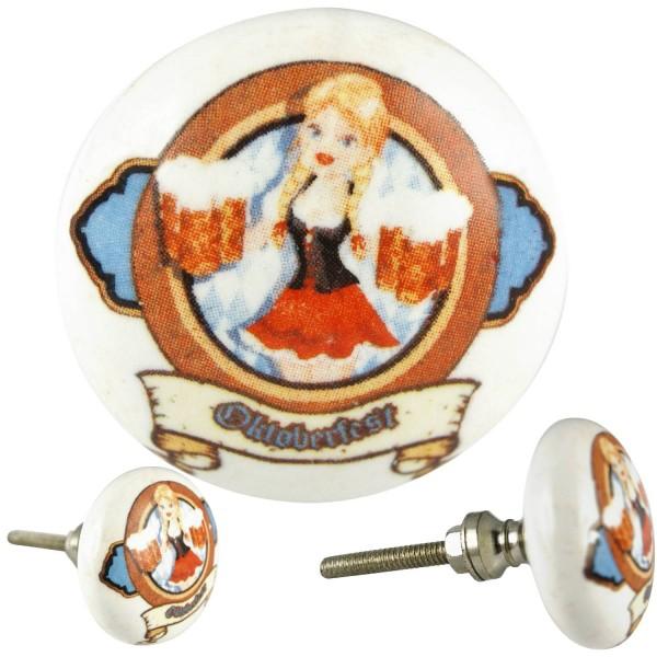Restposten Möbelknöpfe Möbelgriffe Möbelknopf Keramik - Oktoberfest